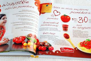 Wnętrze książki, o pomidorach