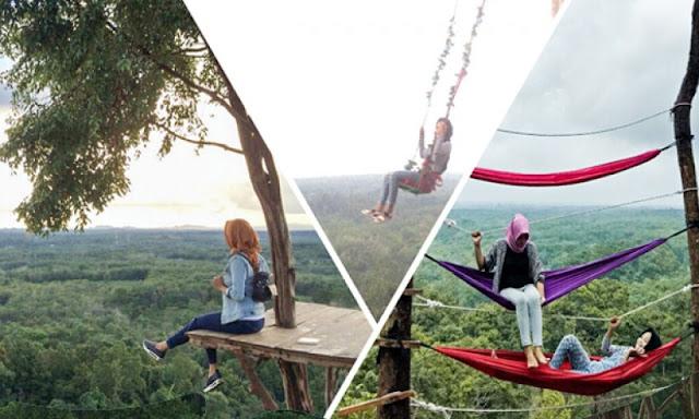 spot foto instagrammer wisata bukit gebang