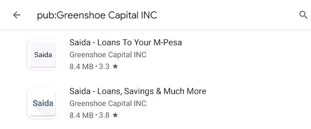 Saida loan app Kenya