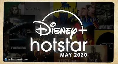 disney+ hotstar may 2020 upcoming