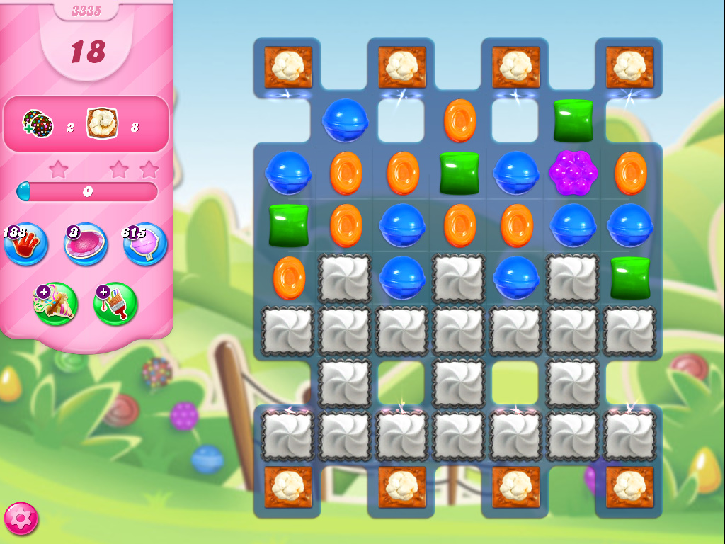 Candy Crush Saga level 3335