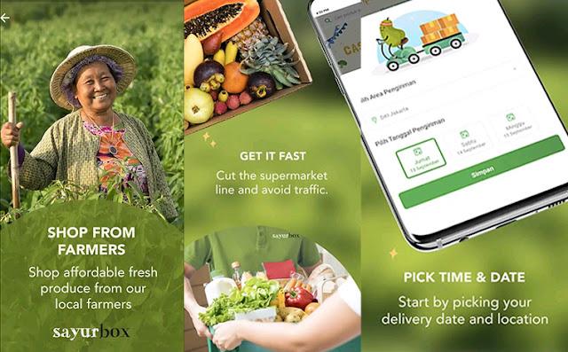 Sayurbox - groceries online Jakarta