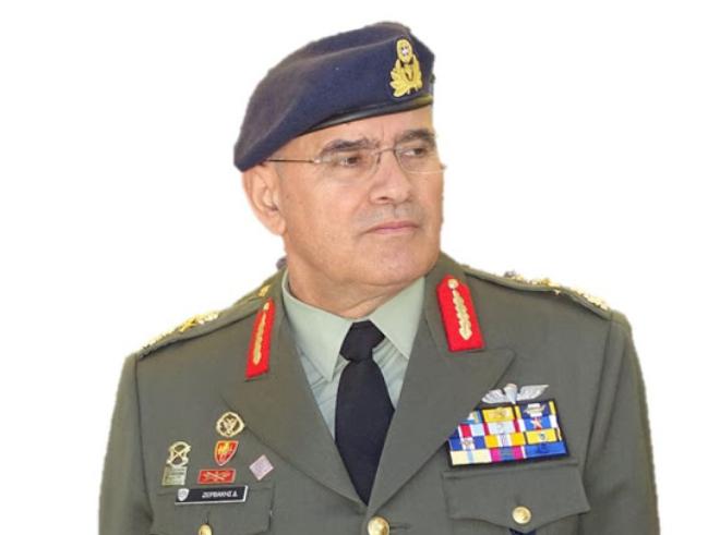 Ο Αντιστράτηγος Δημόκριτος Ζερβάκης νέος Αρχηγός της Εθνικής Φρουράς