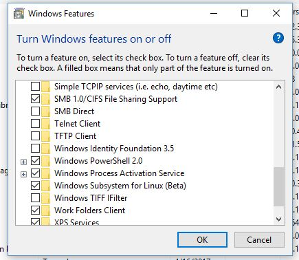 Windows Subsystem for Linux Tidak Lagi Beta