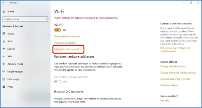 Memperbaiki Wifi Diblokir