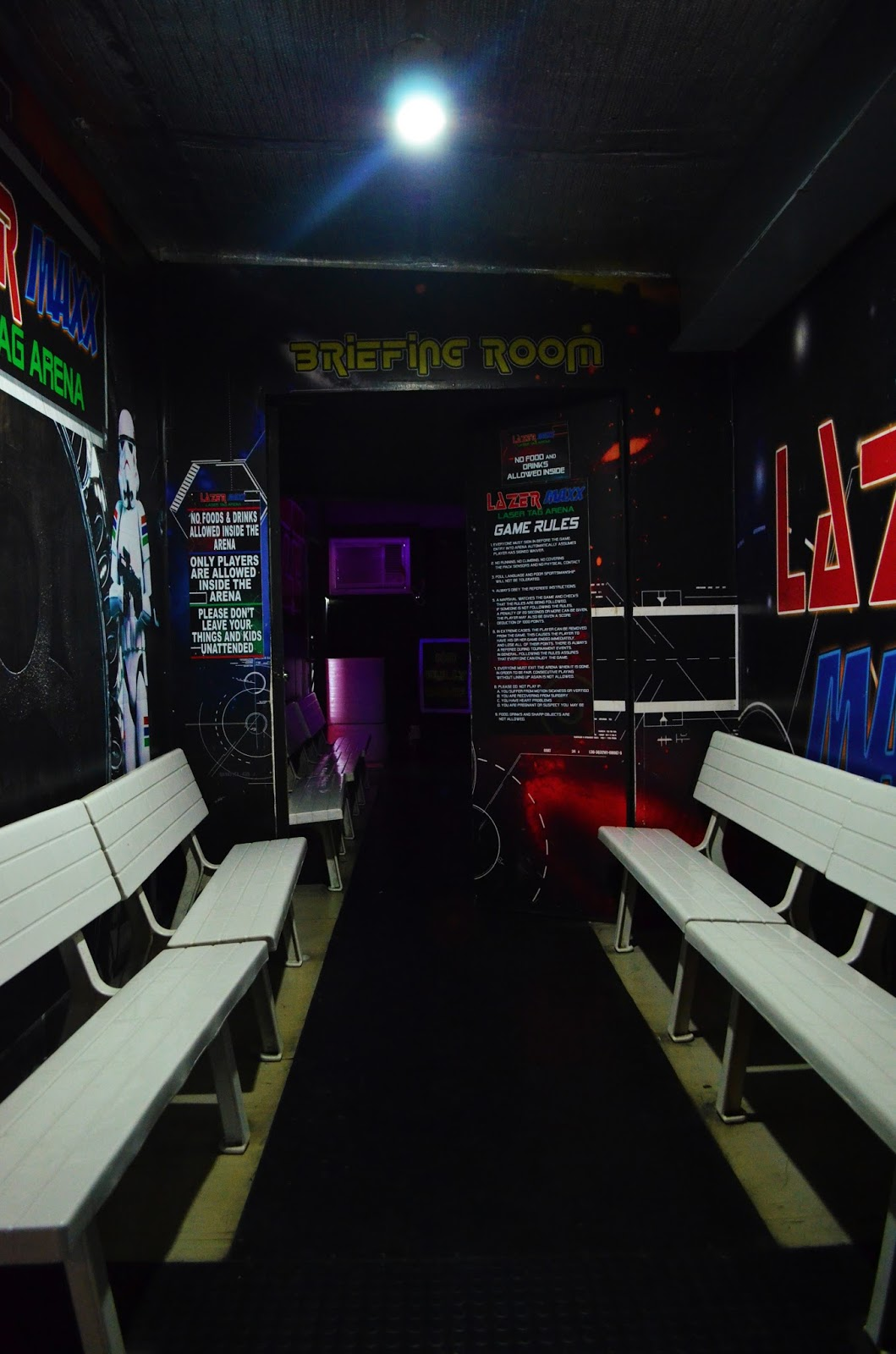 sale retailer 01d5f 33519 Lazer Maxx is open to players of all ages and each arena can accommodate up  to 24 participants per game. A single game lasts for about 15 minutes, ...