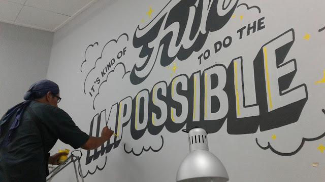 jasa lukis dinding mural ruang kantor