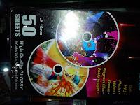 JUAL LABEL CD GLOSSY 50 SHEET