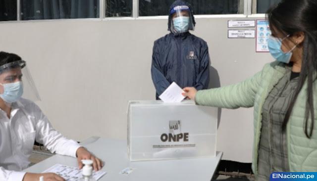 ONPE Elecciones internas partidos políticos