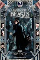 Fantastic Beasts SDCC Poster