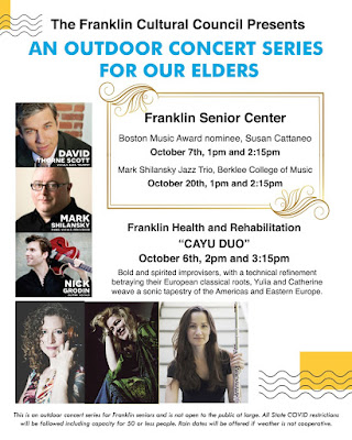 Franklin Senior Center: Outdoor Concert - Tuesday, 2:15 PM
