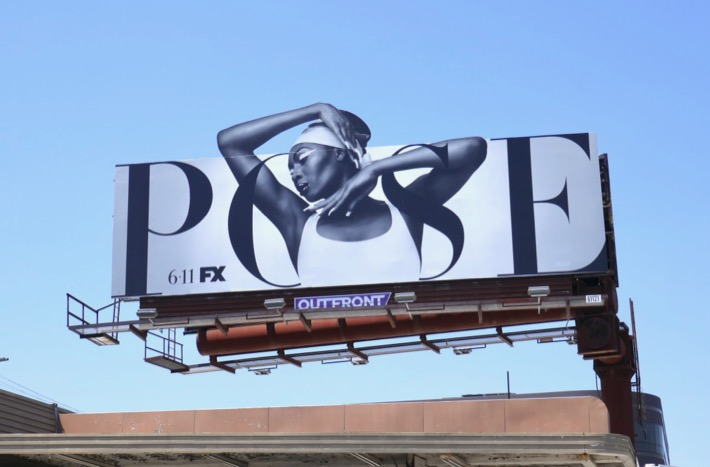 Pose season 2 Voguing cut-out billboard