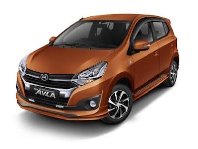 Pilihan Mobil Baru Daihatsu Ayla