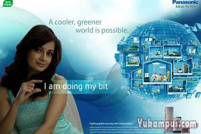 iklan barang elektronik