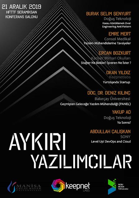 Aykırı Yazılımcılar: Burak Selim Şenyurt, Ercan Bozkurt, Emre Mert, Okan Yıldız, Deniz Kılınç, Yakup Ad, Abdullah Çalışkan