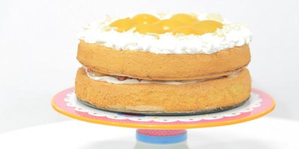 الكيكة الاسفنجية - غادة التلي