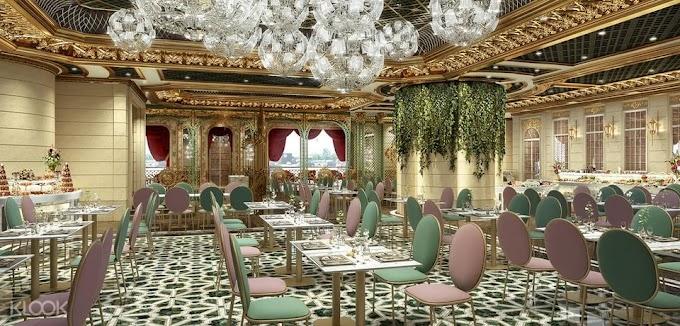 歷山酒店: 維多利亞宮廷式半自助午餐及下午茶套餐