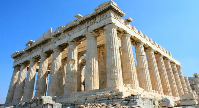 The Parthenon was the most beautiful building in the world, according to the architects