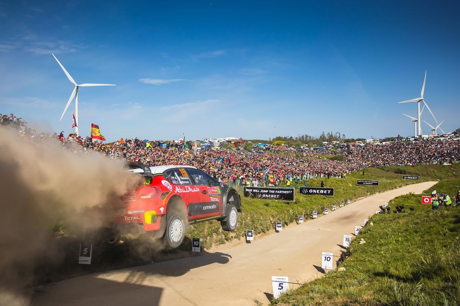EL C3 WRC EN LA PASIÓN PORTUGUESA | MOTOR Y MUSICA