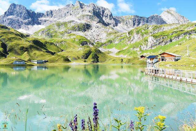 Zürser See en Vorarlberg, Austria