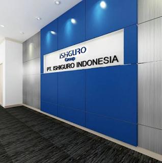 (Loker Paling Baru 2019) Operator Gudang / OP Pabrik PT. Ishiguro Indonesia