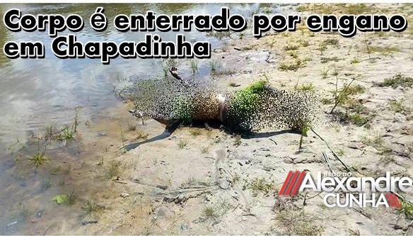 REVIRAVOLTA! Corpo encontrado no Rio Preto é velado e sepultado por engano em Chapadinha