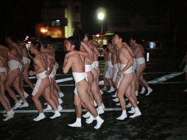Festival del desnudo en Saidaji