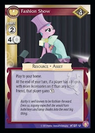 My Little Pony Fashion Show Absolute Discord CCG Card