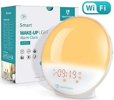 Heimvision sunrise smart alarm clock