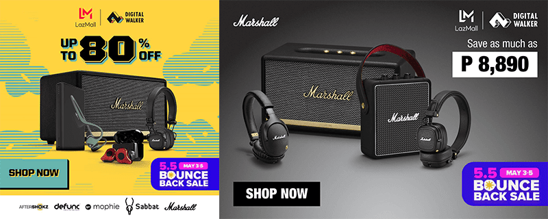 Digital Walker products are up to 80 percent off this Lazada 5.5 Bounce Back Sale