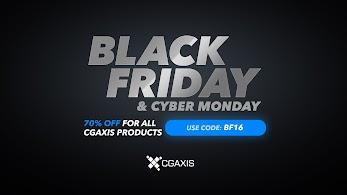 c3c3edbc0de04 Black Friday | Cyber Monday 2016 - Sales, Codes of CG Software, CG Product