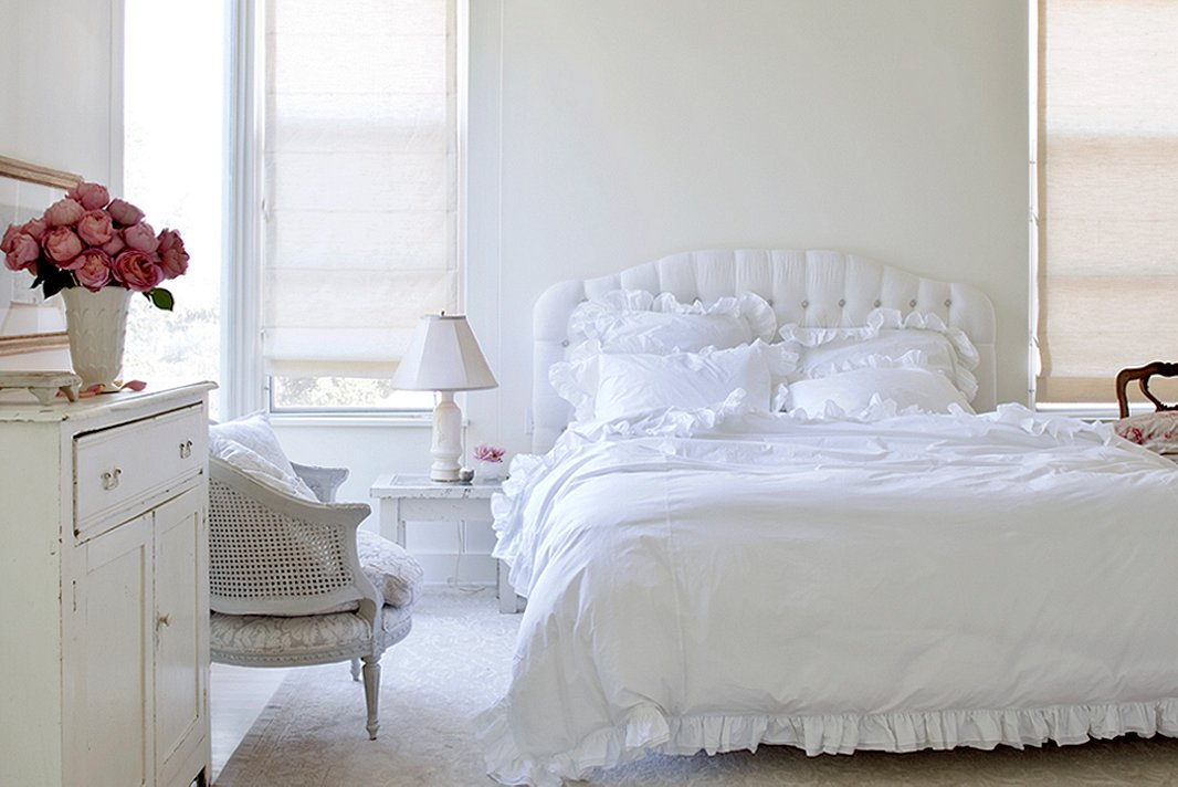 Casa tr s chic simples e tranquilos for Dream of painting a room white