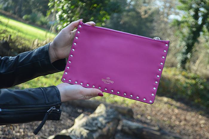 valentino clutch bag fashion bloggers