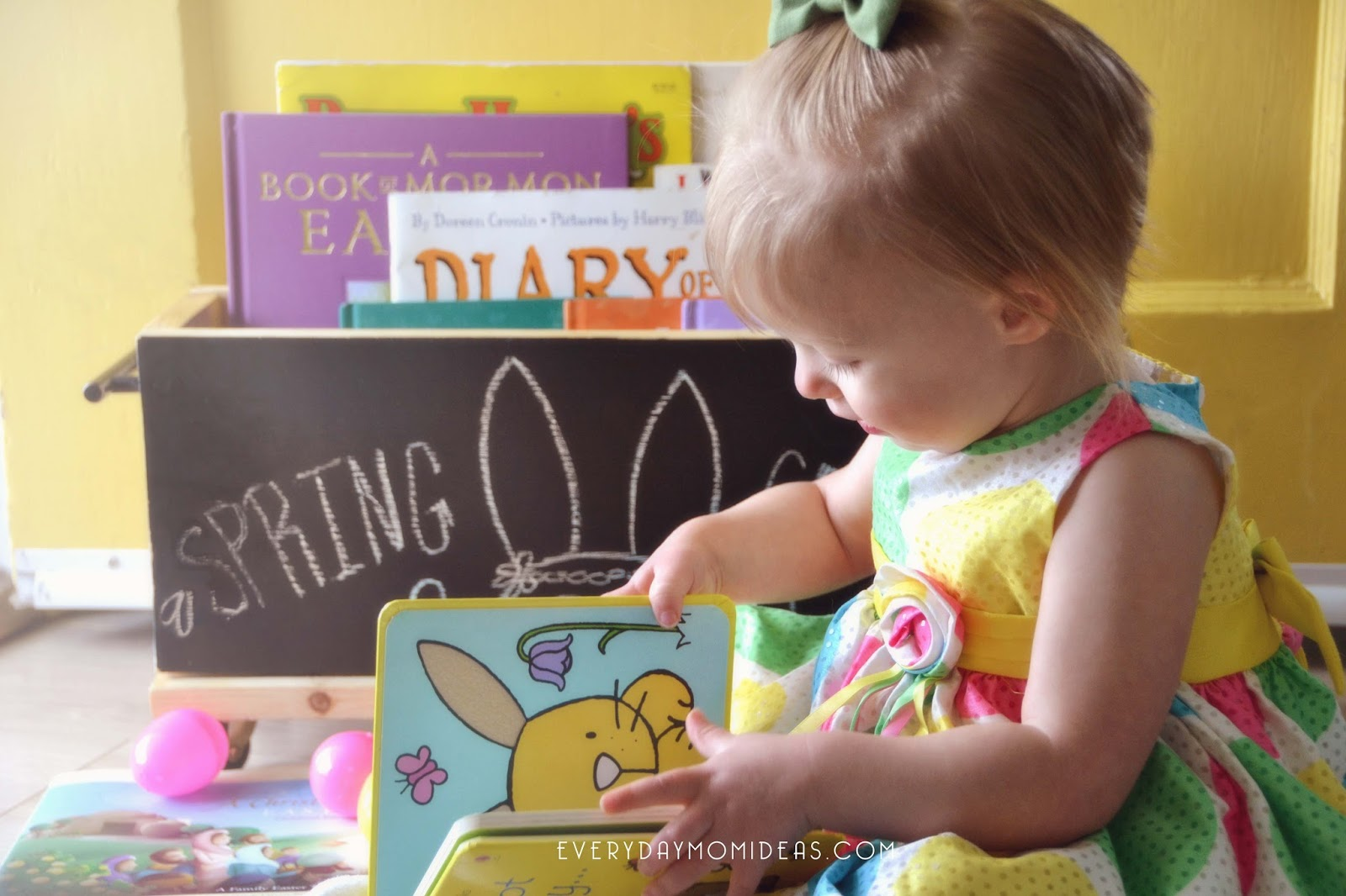 Decorating For Spring With Children\'s Books (Home Decor On A Budget ...