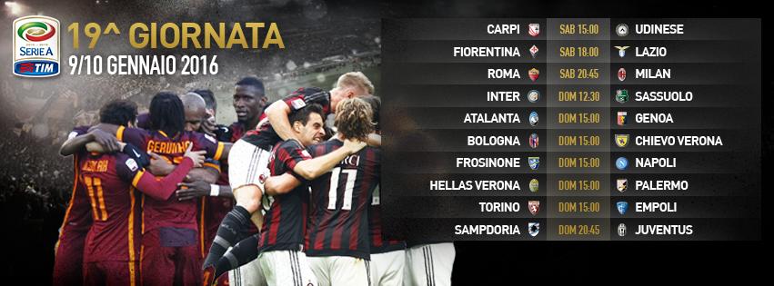 19a giornata Serie A, tecnici in bilico e scudetto d'inverno