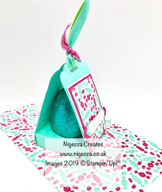 Nigezza Creates, Stampin' Up!, How Sweet It is, Blog Hop, InspireINK, Easter Egg Box