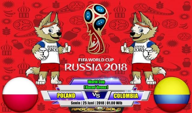 Prediksi Poland vs Colombia 25 Juni 2018
