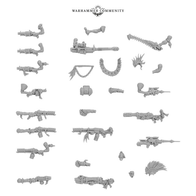 kit armas Escher Forge World
