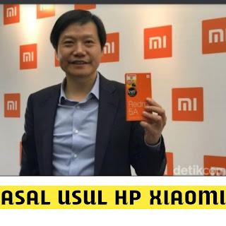 Asal usul HP Xiaomi