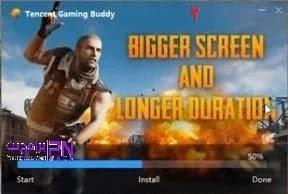 تنصيب لعبة ببجي على الكمبيوتر