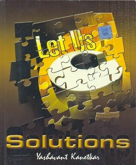Let Us C Solution Manual 5th Edition By Yashwant P. Kanetkar