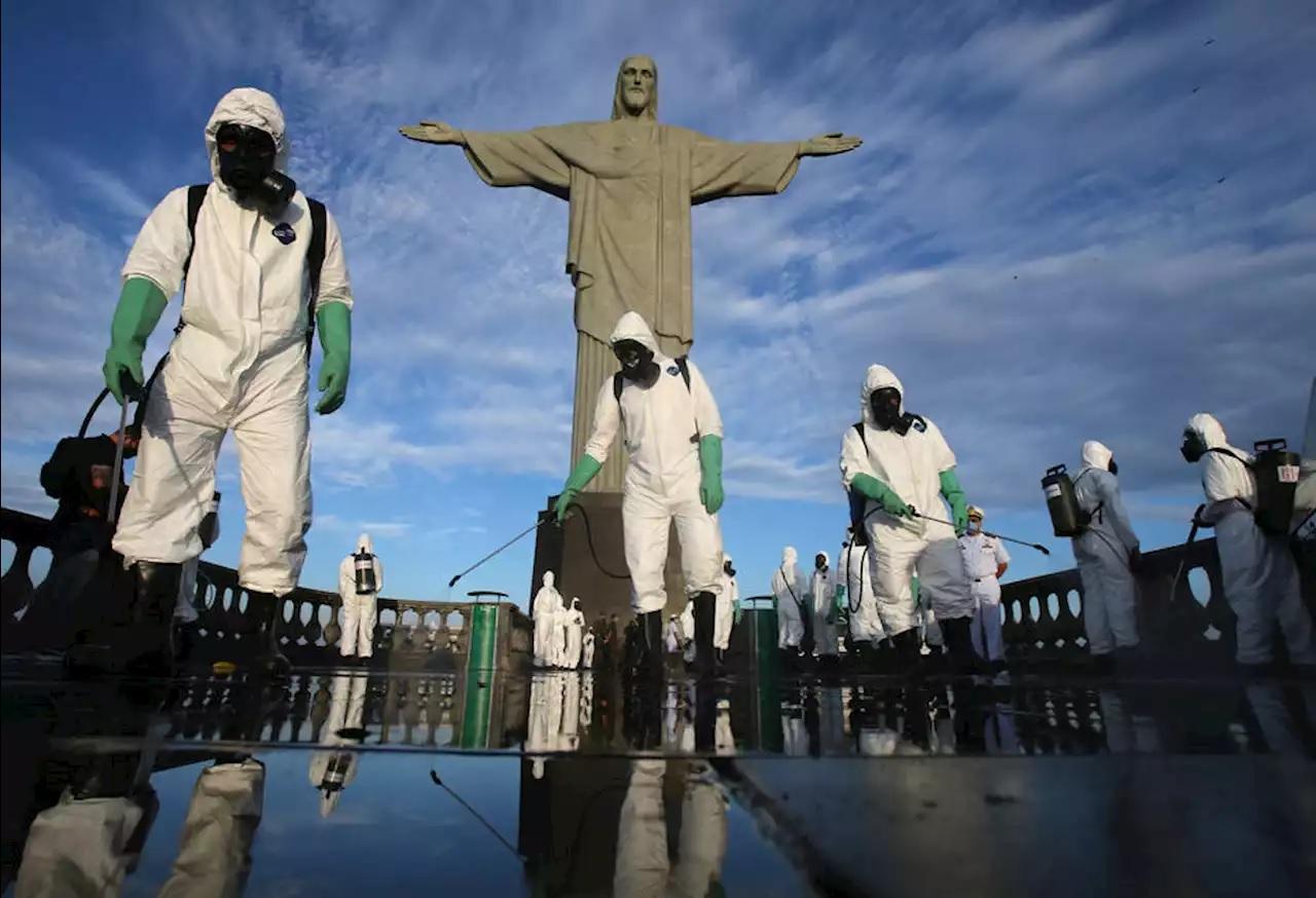 Christ the Redeemer open Rio de Janeiro Covid19
