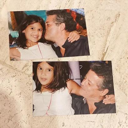 """Giulia Costa fala sobre o pai, Marcos Paulo: """"Minha maior saudade"""""""