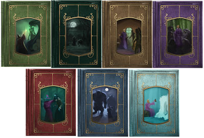 """I sette libri della """"serie Gilderoy Allock"""""""