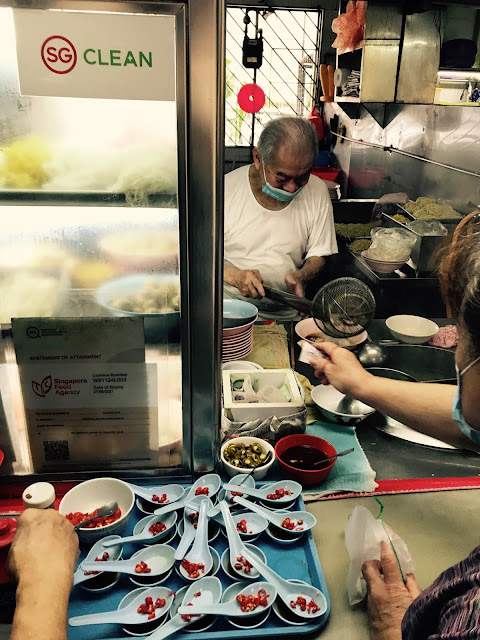Teochew Fish Ball Noodle - crawford stall