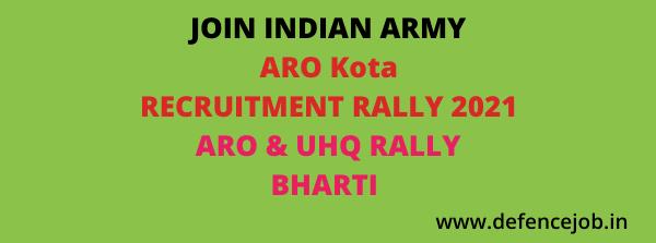 ARO Kota Army Rally 2020
