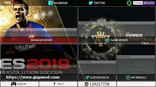 FTS 19 Mod PES 2019 Full Update Transfer Offline + Gojek League 1