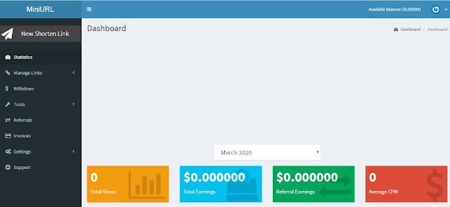 MiniURL.io  Best URL Shortener to Make Money