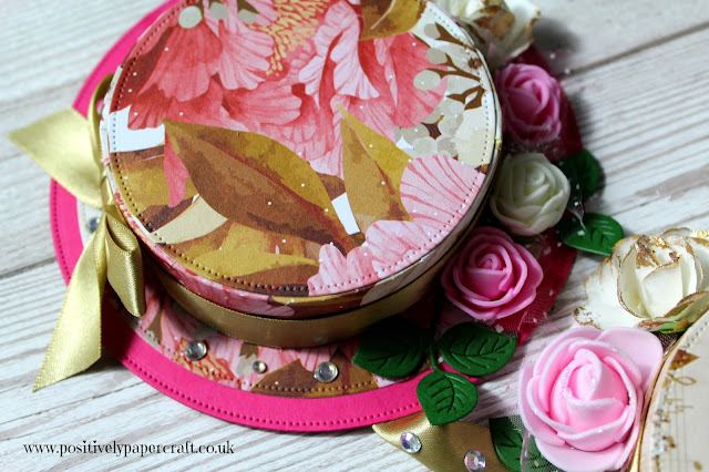 Bonnet wall decoration, positivelypapercraft, Ann melvin