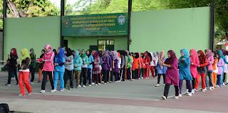 1.300 Penari Saman Meriahkan HUT RI Ke-70